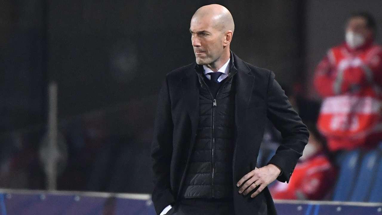 Zinedine Zidane Atalanta Real Madrid