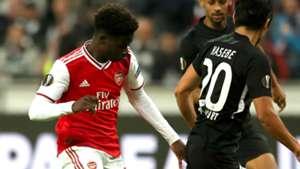 Sensational Saka! Arsenal young guns lift the gloom in Germany