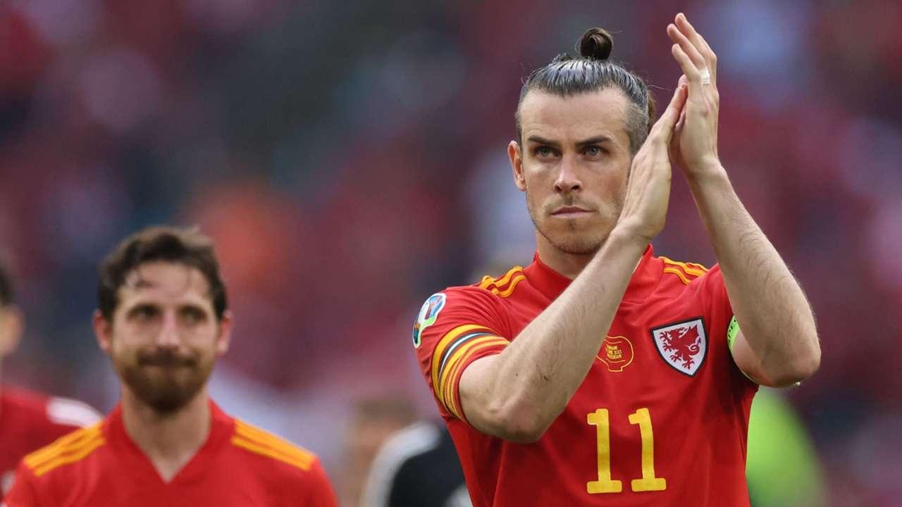 Gareth Bale Wales vs Denmark Euro 2020