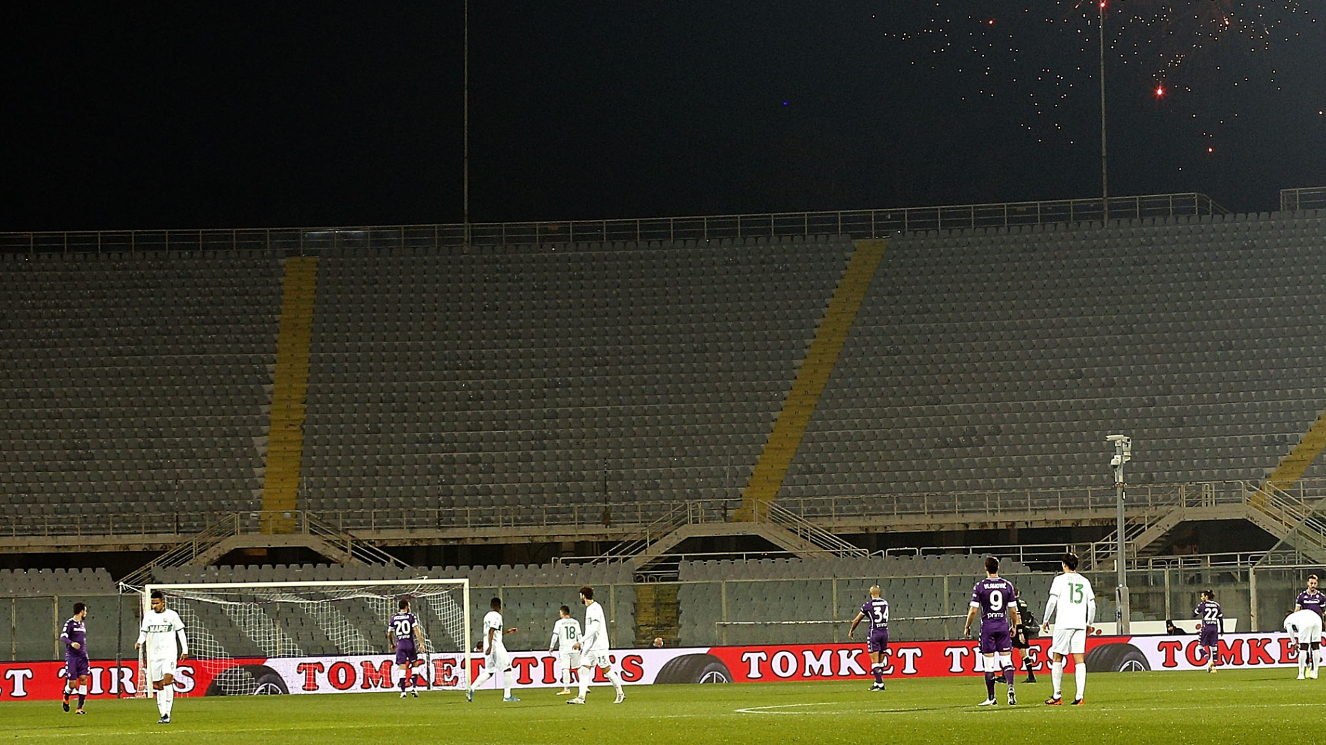 Lo Stadio Franchi è ora una classe chiusa per la Fiorentina