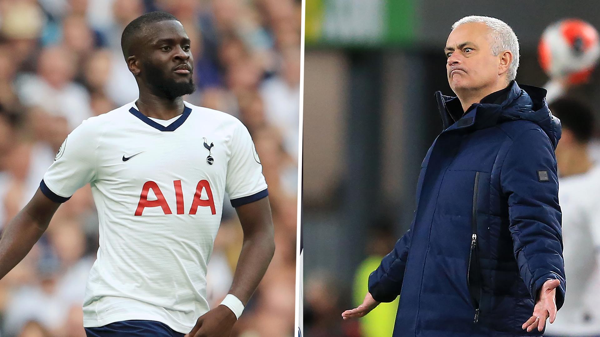 Mourinho denies rift with Tottenham outcast Ndombele