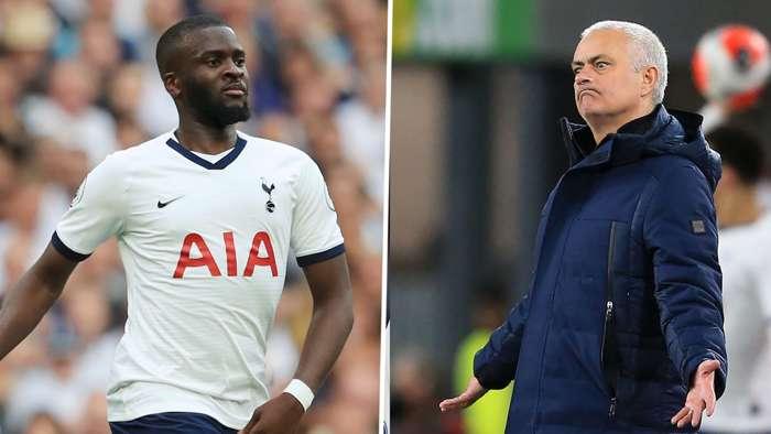 Tanguy Ndombele Jose Mourinho Tottenham GFX