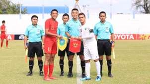 Marcell Januar Putra - Indonesia U-15 & Paulo Freitas - Timor Leste U-15