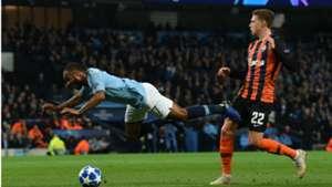 Raheem Sterling Manchester City UEFA Champions League 07112018