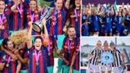 Barcelona Chelsea Juventus Women 2020-21 split