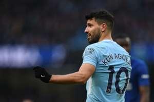 Manchester City Sergio Agüero 04032018