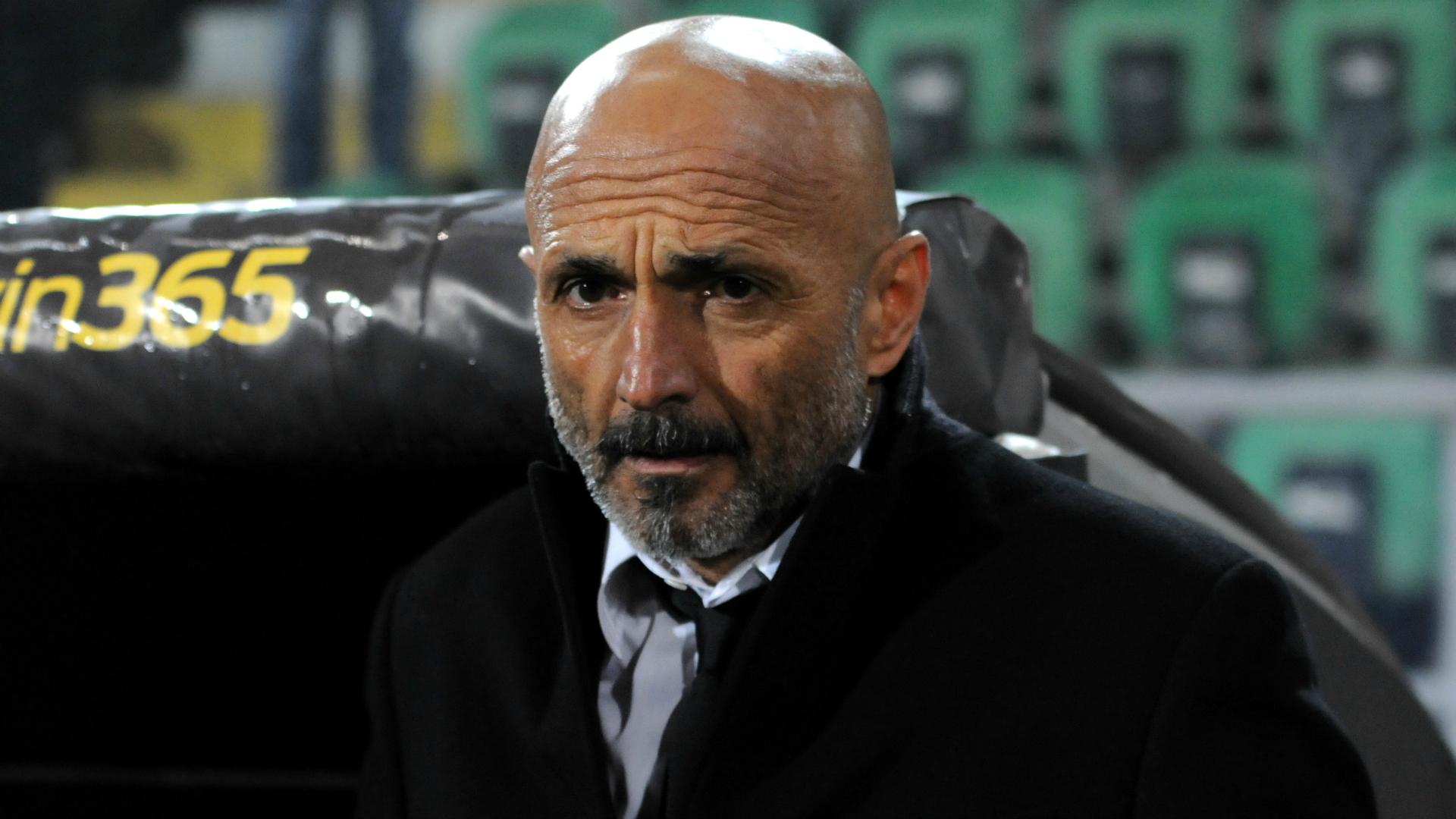 Luciano Spalletti Palermo Roma Serie A 03122017