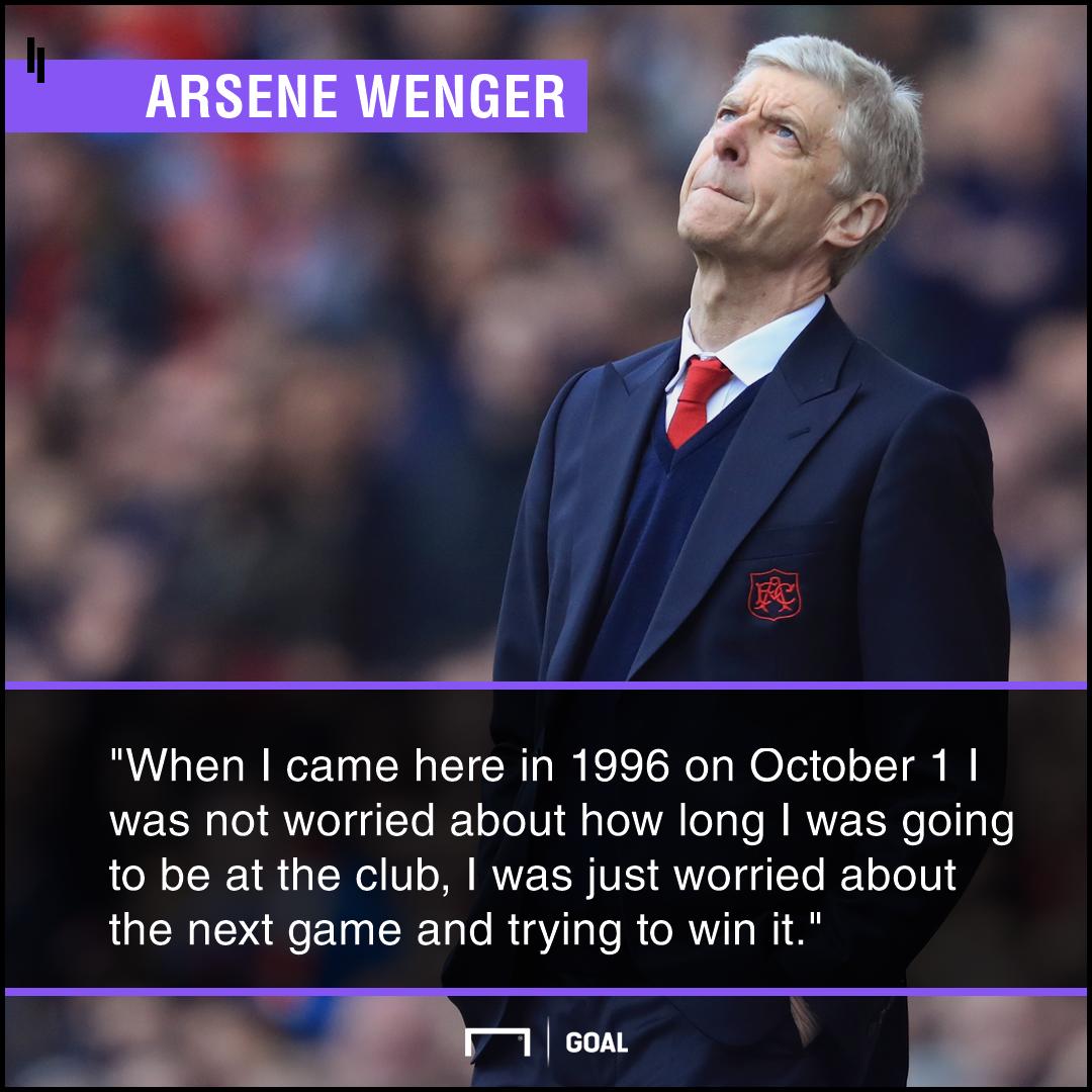 Arsene Wenger future not worried