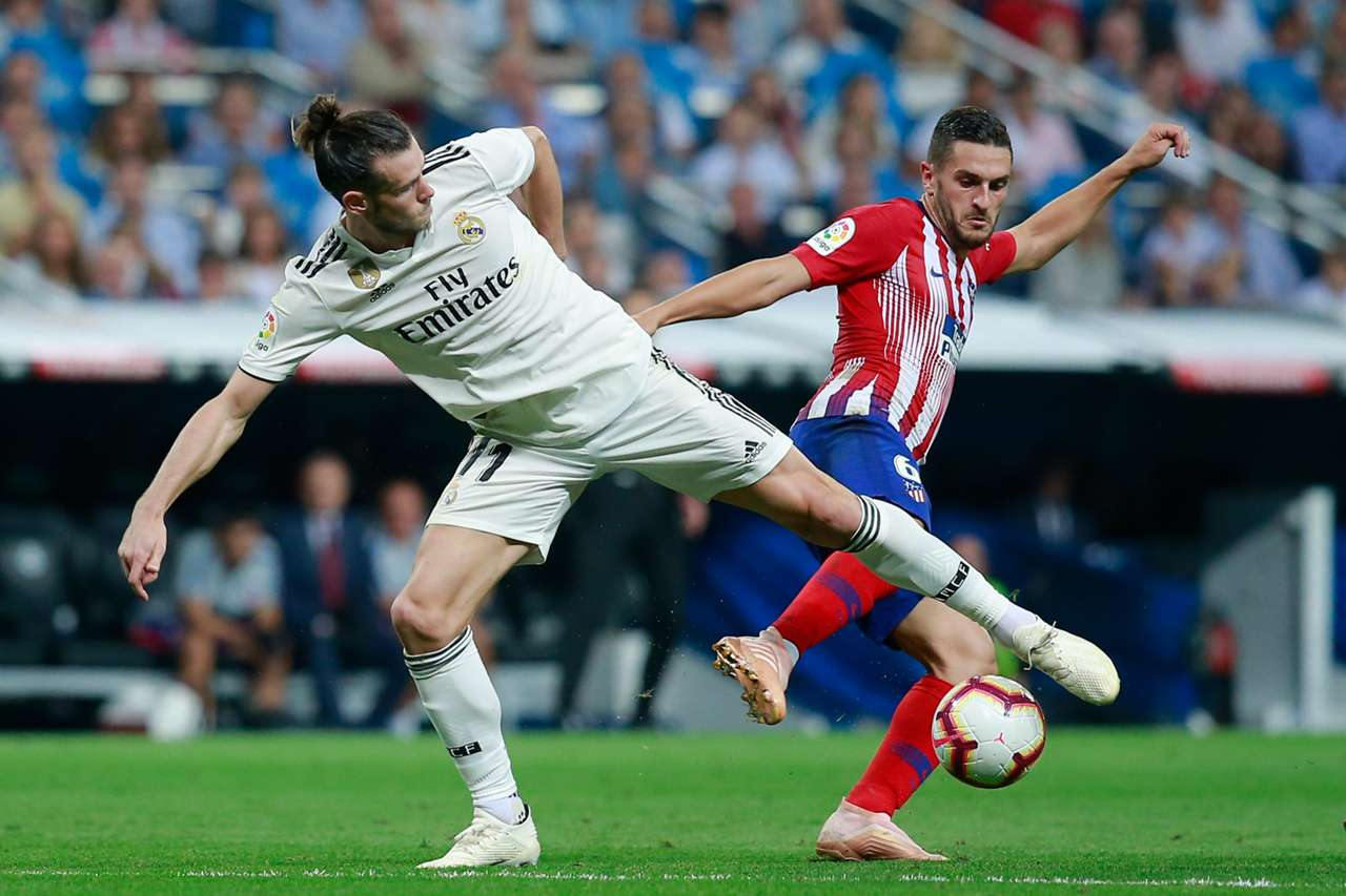 Real Madrid Atletico Madrid La Liga Santander 29092018