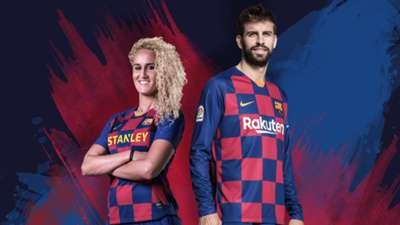 Barcelona kit 2019-20 home