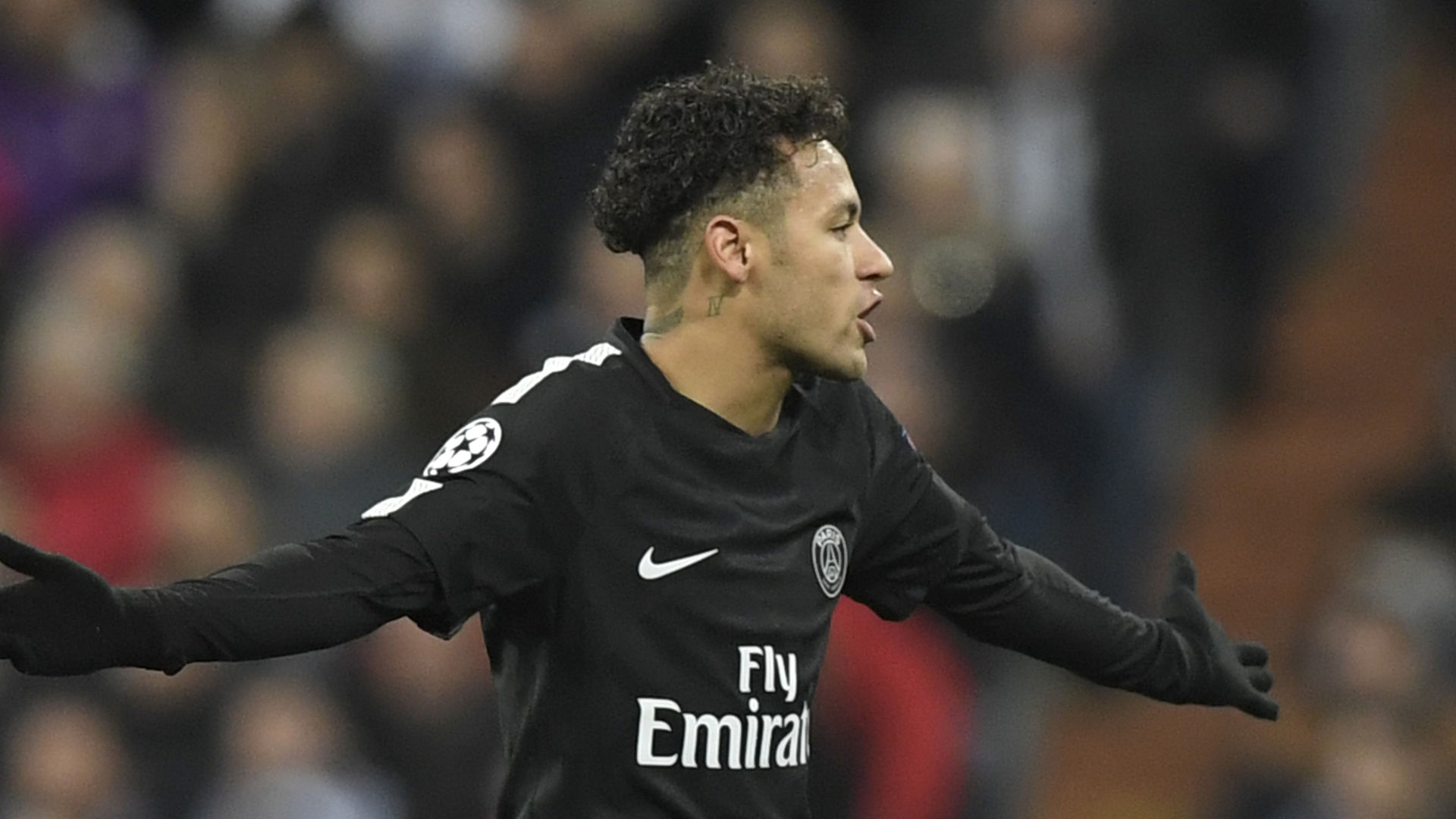 Neymar Real Madrid PSG Champions League 14022018