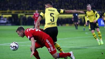 Achraf Hakimi Joahua Kimmich Dortmund Bayern 10112018