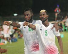 Stephane Bayi Kamo and Ansumana Kromah