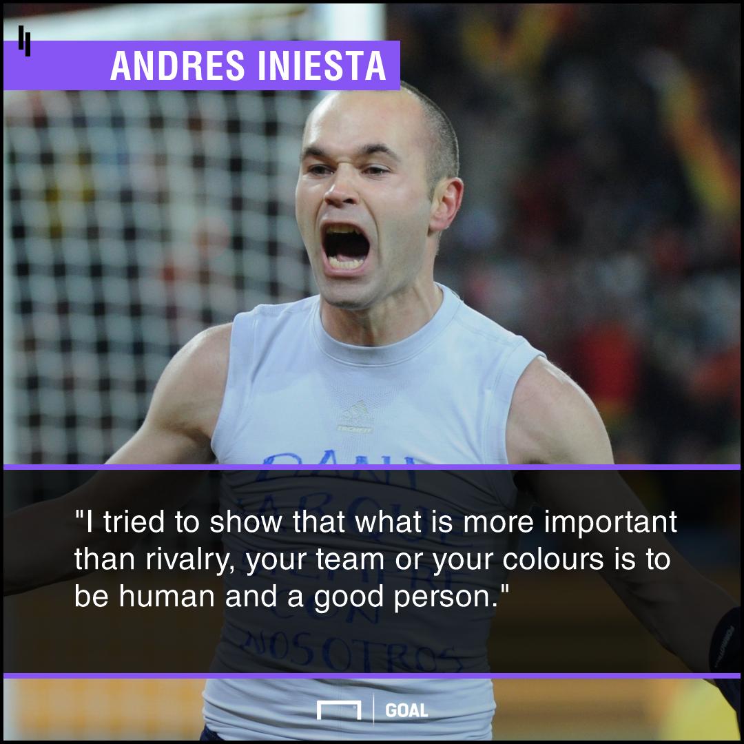 Andres Iniesta Barcelona PS