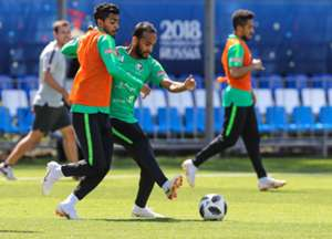 Arabia Saudita treino Copa do Mundo 23 06 18