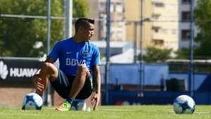 Ricardo Centurion Boca Juniors Entrenamiento