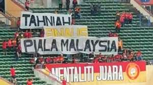 Selangor fans banner, Malaysia Super League, 25022019