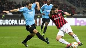 Patrick Cutrone Milan Dudelange Europa League