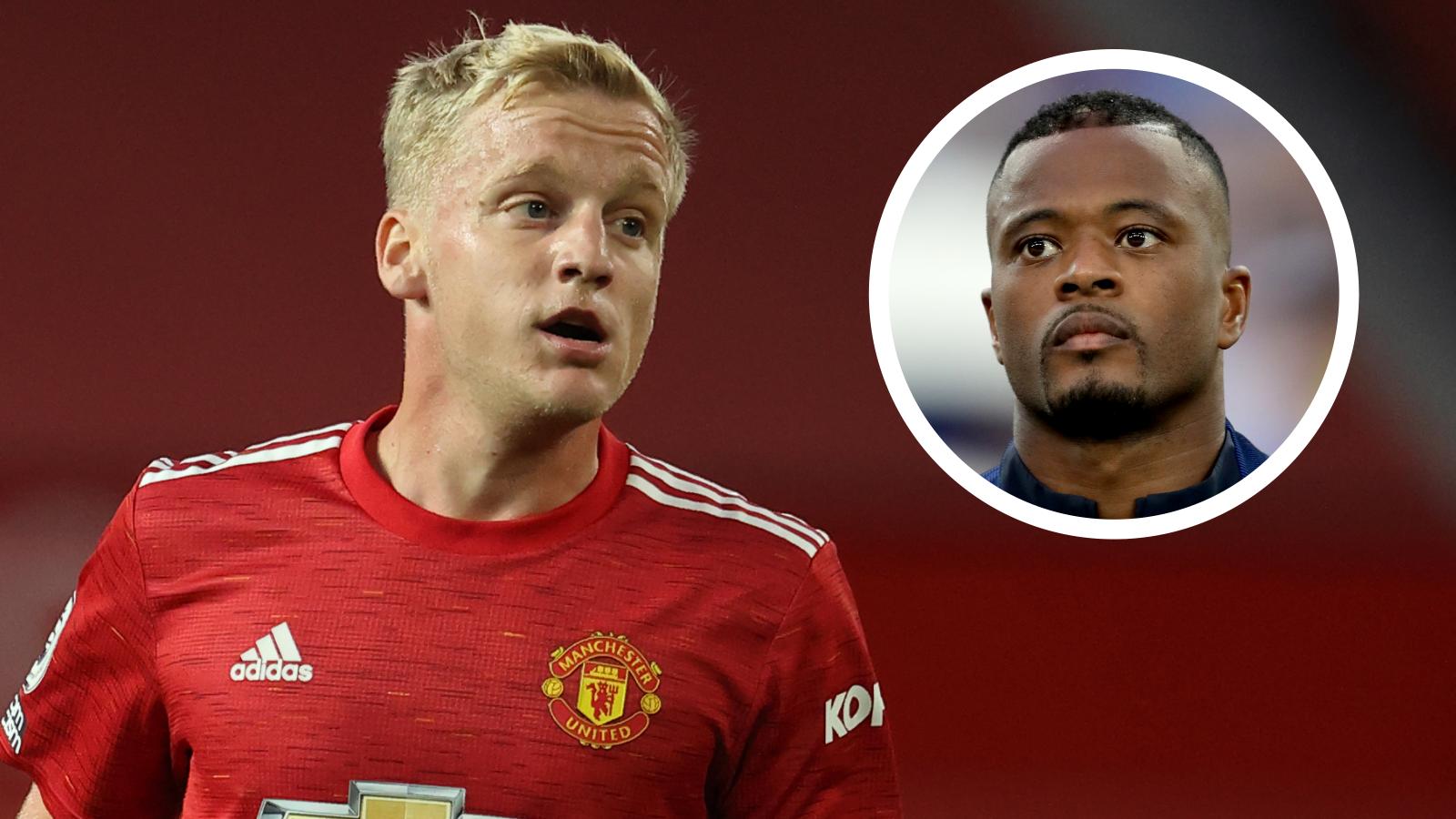 'Van de Beek's agent should shut his mouth' - Evra takes aim after midfielder's agent criticises Manchester United