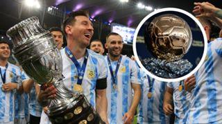 Lionel Messi Ballon d'Or GFX