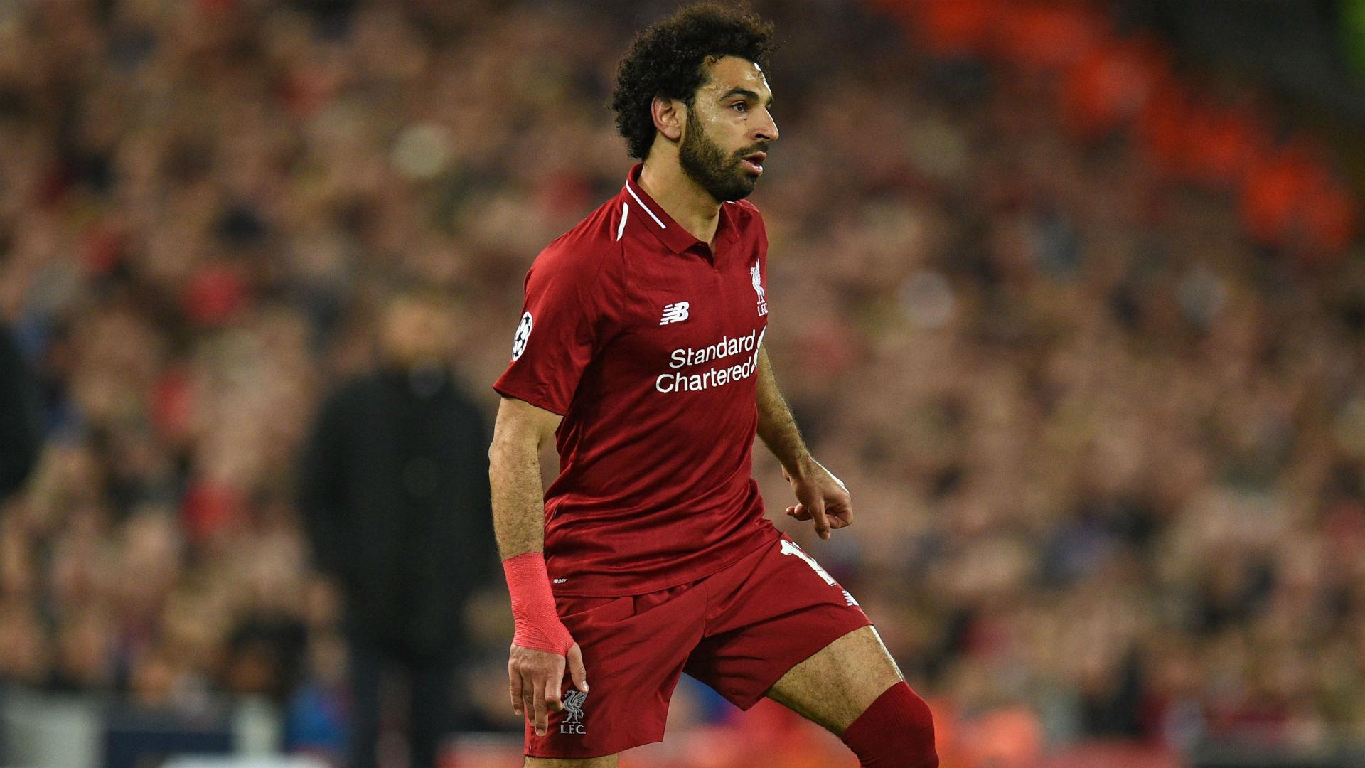 Mohamed Salah Liverpool UEFA Champions League 24102018