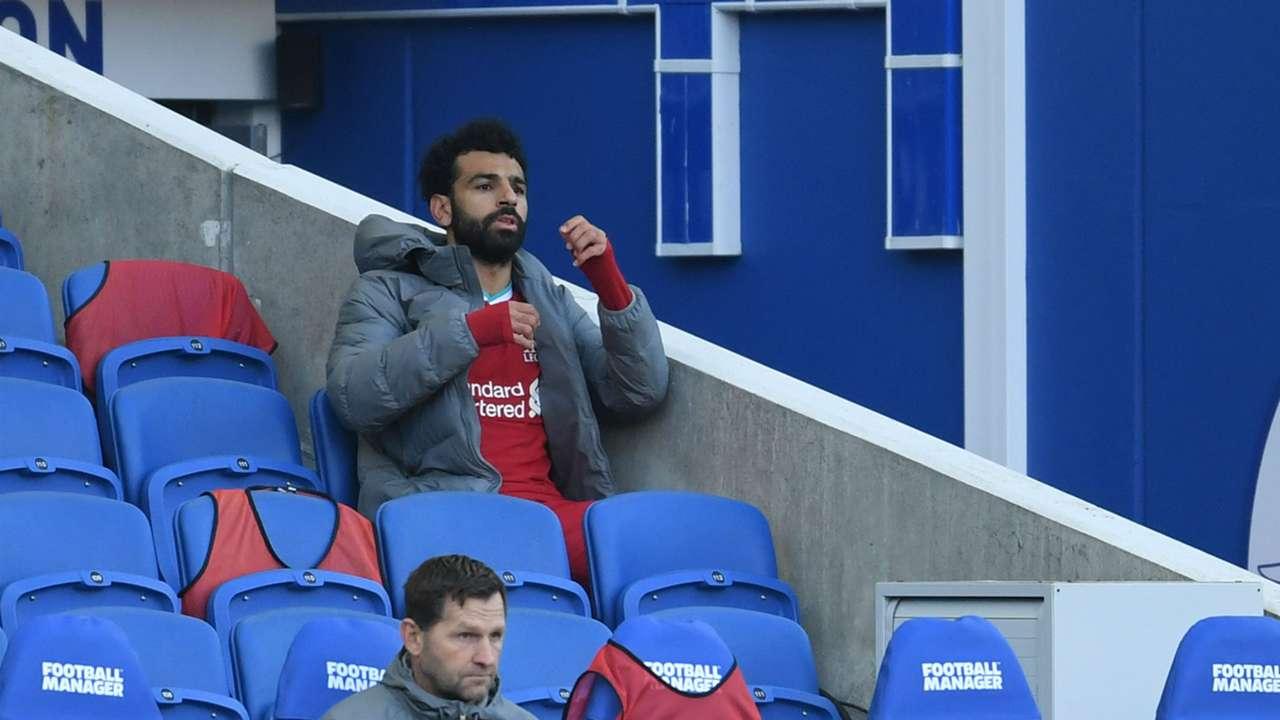 Mohamed Salah Liverpool Brighton 2020-21