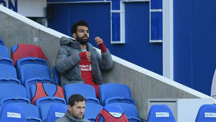 Mohamed Salah Liverpool Brighton 2020-21