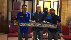 Presiden Brajamusti Muslih Burhanudin, Bambang Susanto, & plt The Maident Rendy Agung Prasetya
