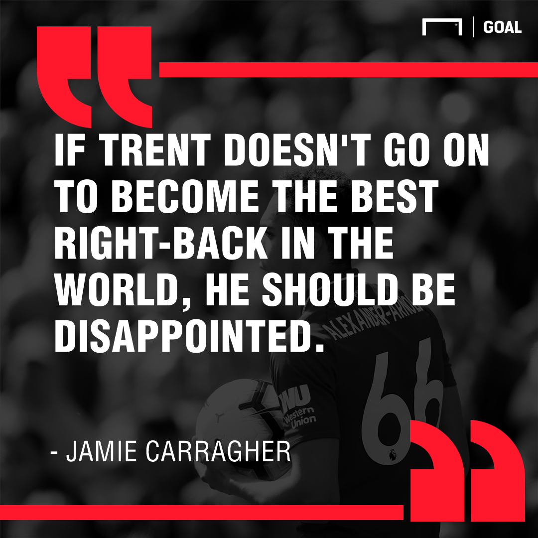 Jamie Carragher on Trent Alexander-Arnold 2019
