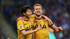 Harry Kane Son Tottenham Leicester