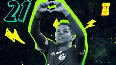 Goal 25 2020 21 Amine Harit FC Schalke 04 Morocco