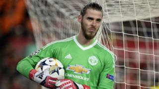 David de Gea Manchester United Sevilla Champions League