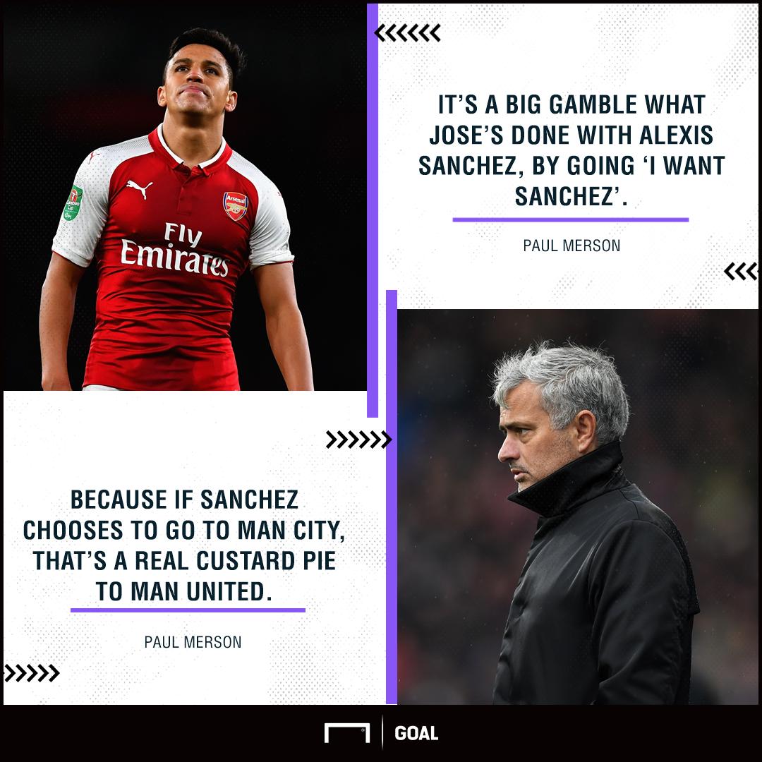 Alexis Sanchez Manchester United gamble custard pie