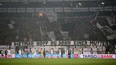 Eintracht Frankfurt fans Dietmar Hopp 2020