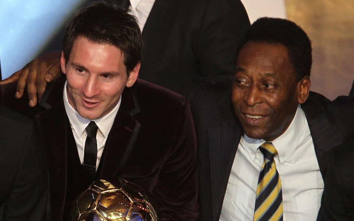 Santos conteste le record de buts de Messi