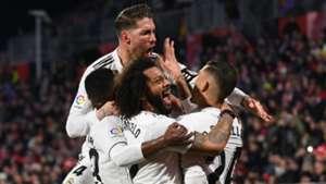 Real Madrid celebrate 2019