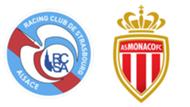 RC Strasbourg - AS Monaco, 4ème journée de Ligue 1, le 1er septembre 2019