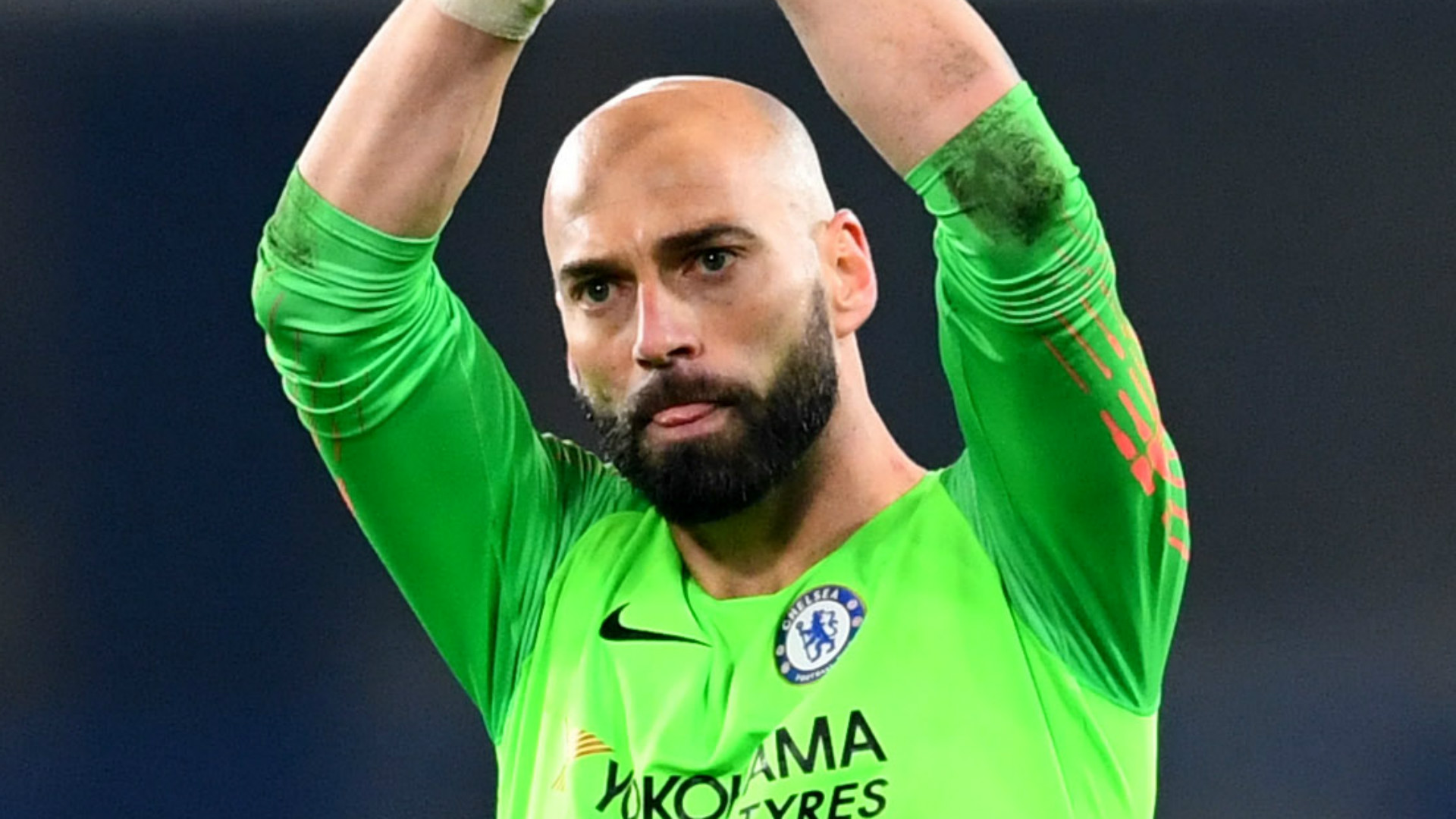 Chelsea goalkeeper Caballero: Contract extension a 'blessing and privilege'