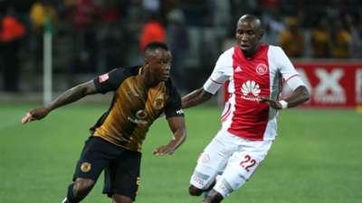 Tsepo Masilela and Mark Mayambela - Ajax Cape Town vs Kaizer Chiefs