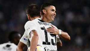 Leonardo Bonucci Cristiano Ronaldo Juventus 2018-19