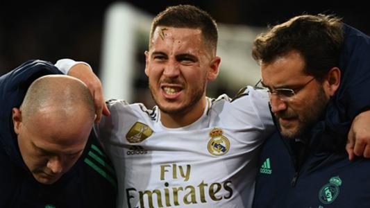 Hazard ankle break confirmed by Real Madrid