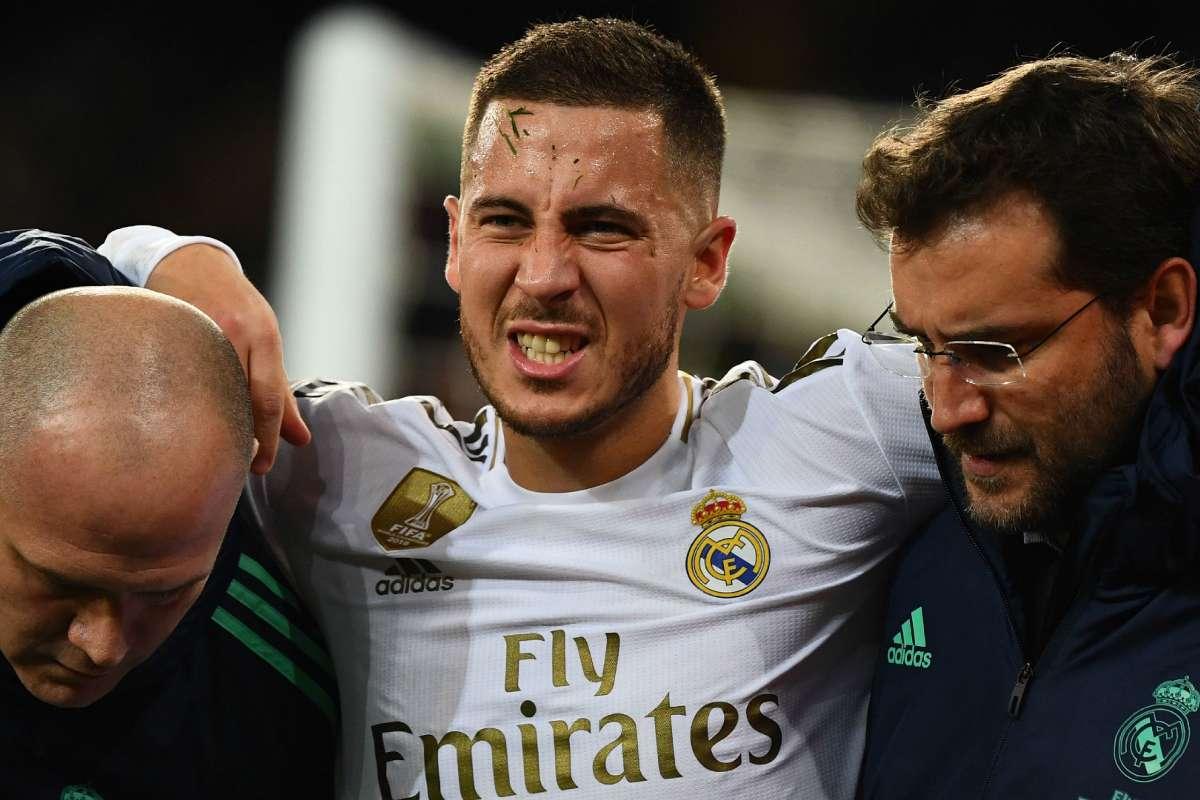 Eden Hazard je v Realu Madrid zklamáním
