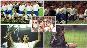 25 años de la histórica Recopa del Zaragoza ante el Arsenal y el inolvidable gol de Nayim desde el centro del campo en la prórroga