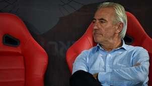 Coach Bert van Marwijk Thailand vs UAE   World Cup 2022 qualification