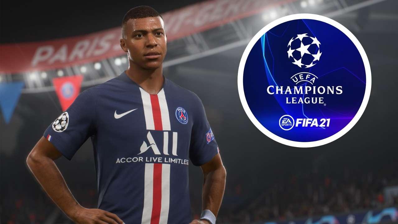 FIFA 21 Mbappe Champions League
