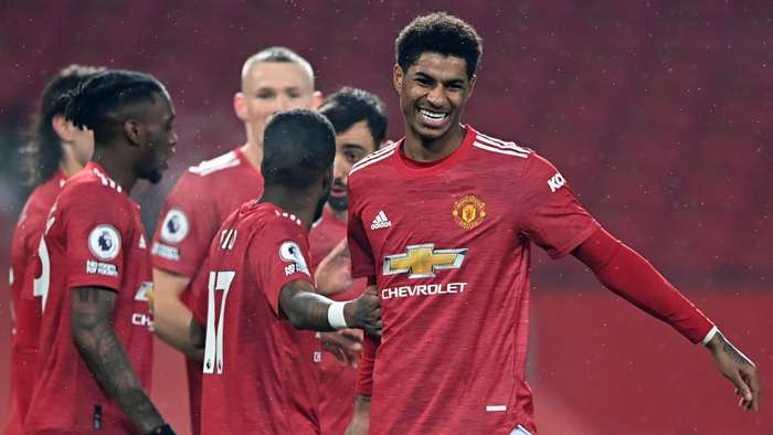Marcus Rashford, Man Utd, Premier League 2020-21