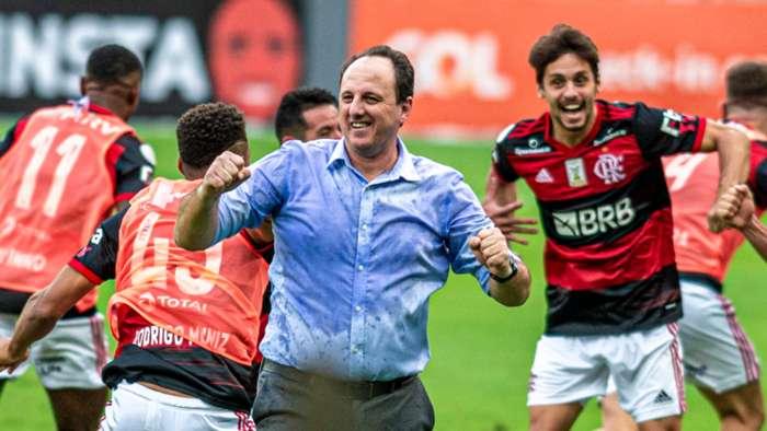 Rogério Ceni Flamengo Internacional Brasileirão 21 02 2021