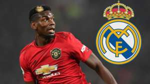 Paul Pogba Manchester United Real Madrid GFX