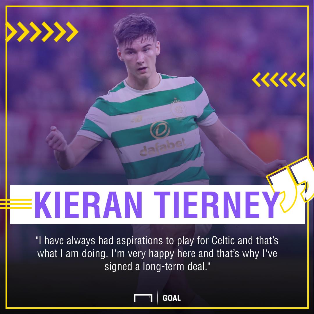 Kieran Tierney Celtic future