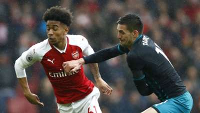 Reiss Nelson Arsenal Dusan Tadic Southampton